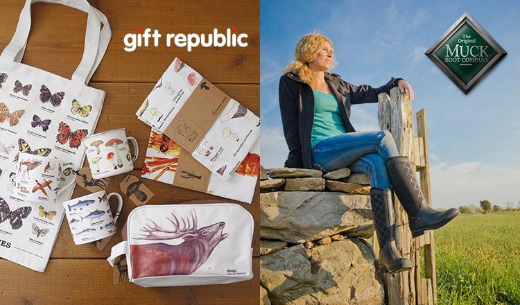 GIFT REPUBLIC/MUK BOOTS