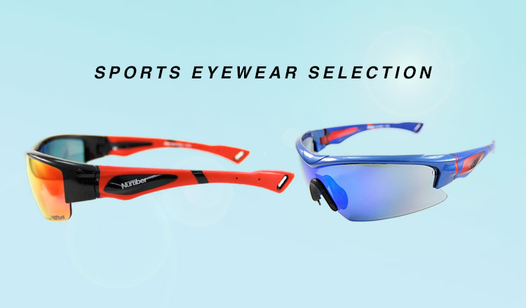 SPORTS EYEWEAR SELECTION