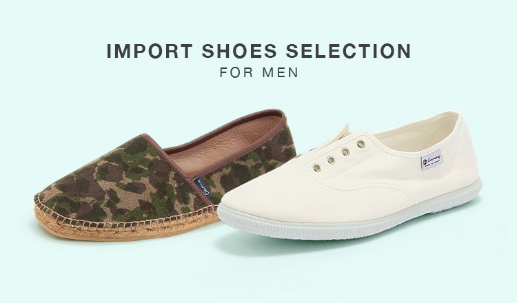 IMPORT SHOES SELECTION FOR MEN