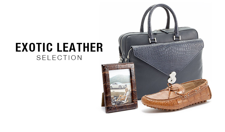 EXOTIC LEATHER SELECTION