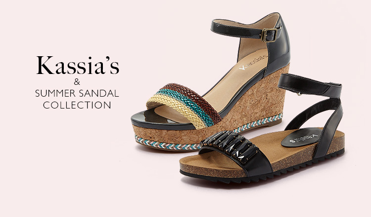 KASSIA'S & SUMMER SANDAL COLLECTION