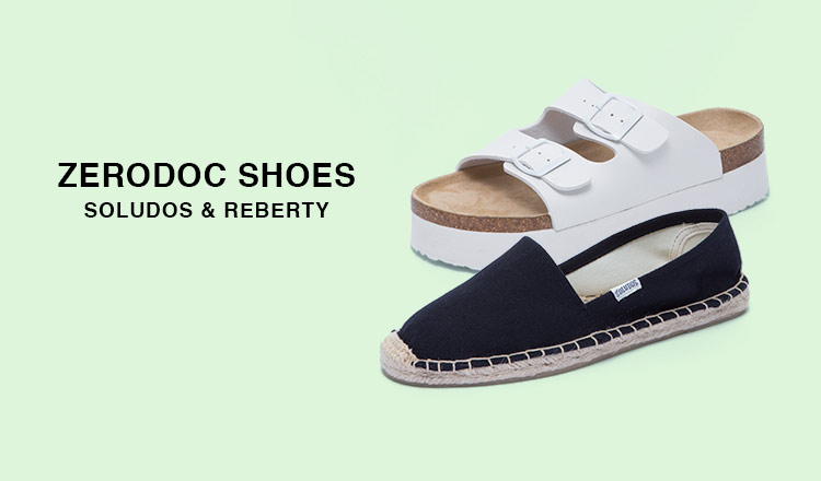 ZERODOC SHOES -SOLUDOS & REBERTY-