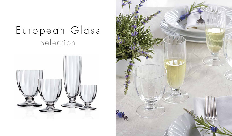 European Glass Selection