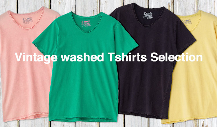 Vintage washed Tshirts Selection