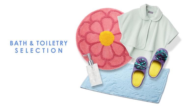 BATH & TOILETRY SELECTION