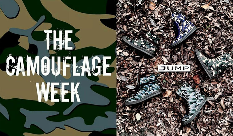 JUMP Shoes -CAMOUFLAGE WEEK- MEN