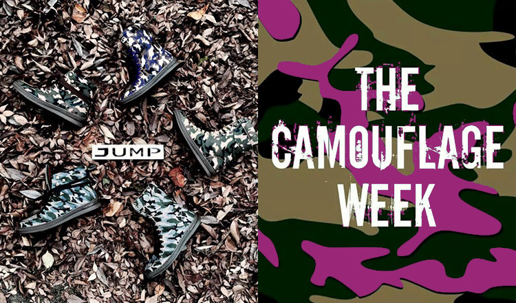 JUMP Shoes -CAMOUFLAGE WEEK- WOMEN