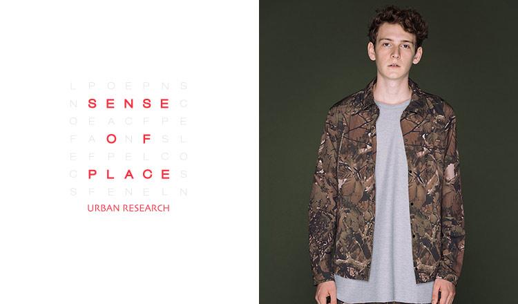 SENSE OF PLACE by URBAN RESEARCH MEN