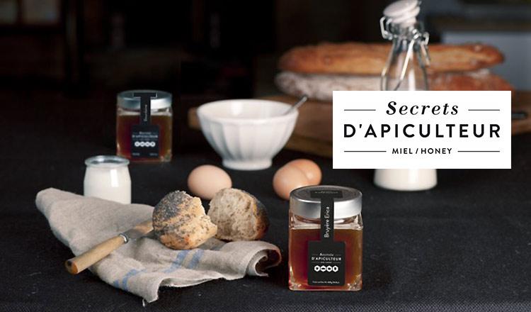 SECRETS D'APICULTEUR フランス産ハチミツ