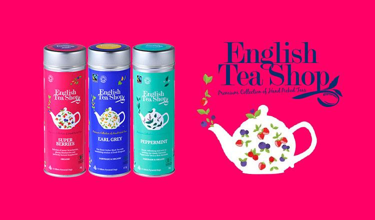 紅茶の本場イギリス発のオーガニックティー -ENGLISH TEA SHOP-