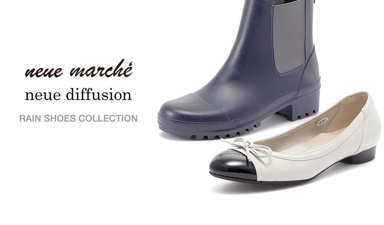 RAIN SHOES COLLECTION BY NEUE MARCHE/NEUE DIFFUSION