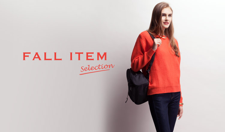 FALL ITEM SELECTION