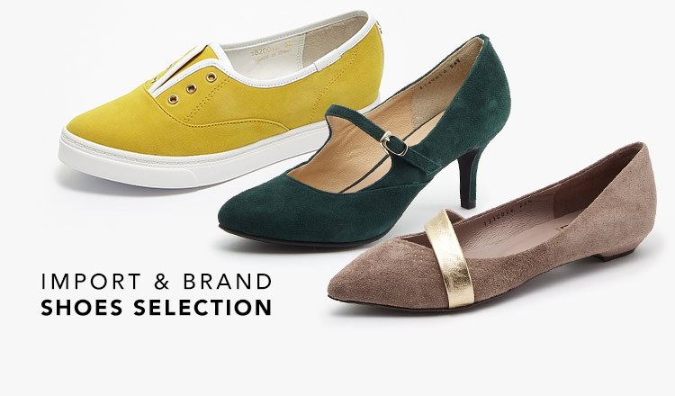 IMPORT & BRAND SHOES SELECTION