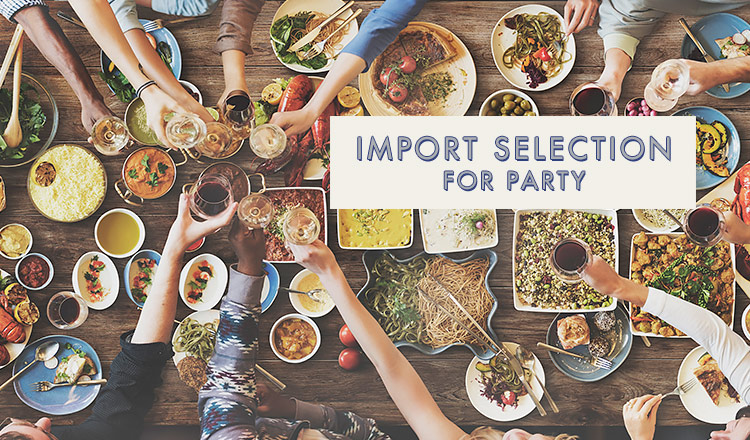 IMPORT SELECTION FOR PARTY