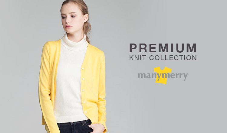 PREMIUM KNIT COLLECTION -MANYMERRY-