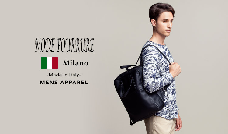 MODE FOURRURE -Made in Italy- MENS APPAREL