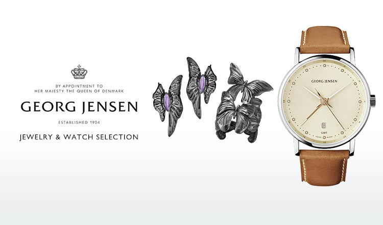 GEORG JENSEN JEWELRY & WATCH SELECTION