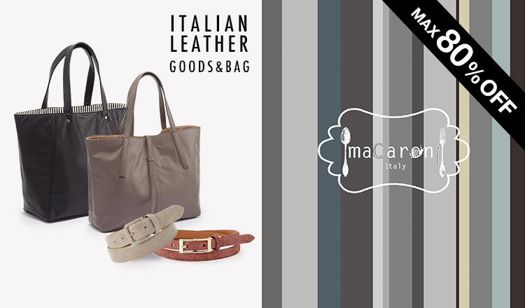ITALIAN LEATHER GOODS&BAG