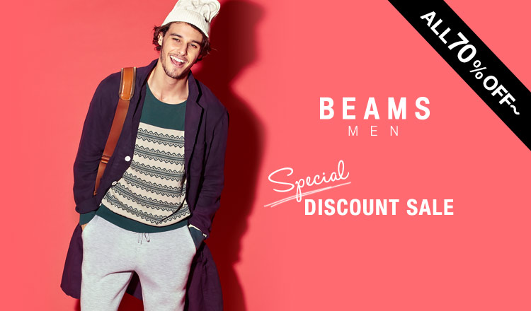 BEAMS MENS SPECIAL DISCOUNT SALE