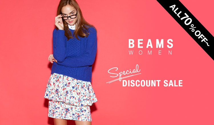 BEAMS WOMEN'S SPECIAL DISCOUNT SALE