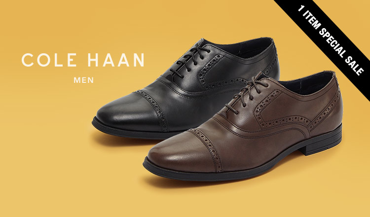 COLE HAAN MEN'S 1 ITEM SPECIAL SALE