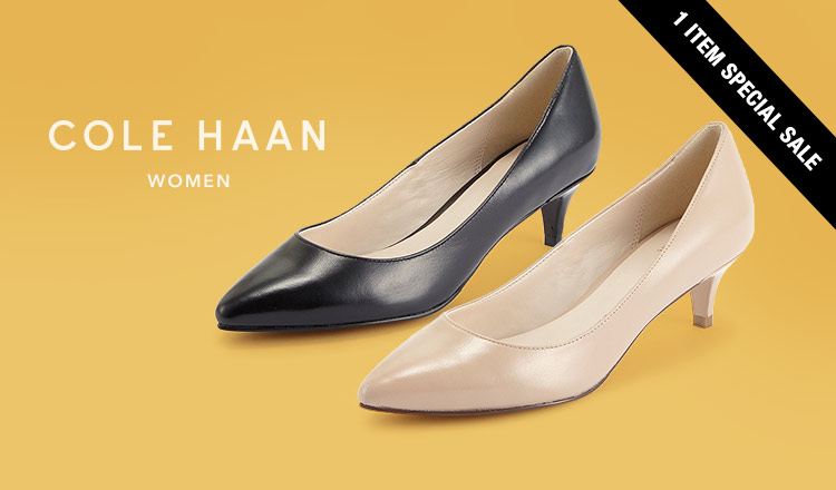 COLE HAAN WOMEN'S 1 ITEM SPECIAL SALE