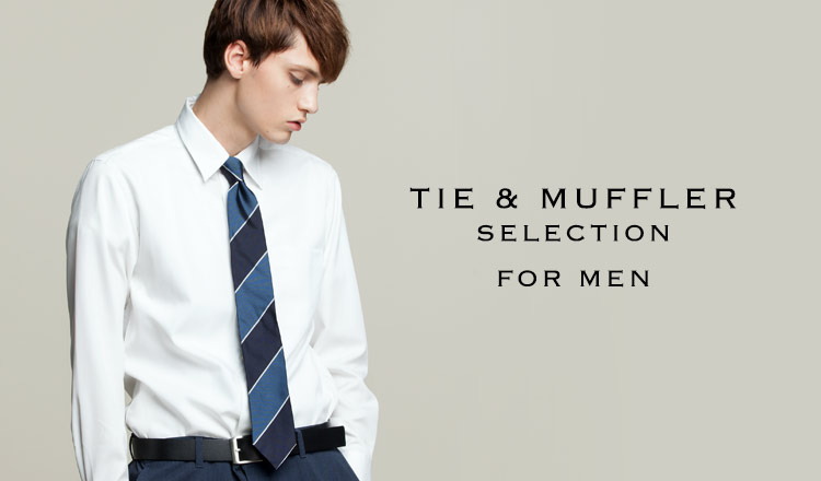 TIE & MUFFLER SELECTION FOR MEN
