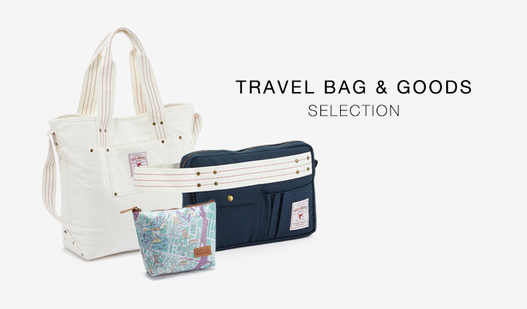 TRAVEL BAG & GOODS SELECTION