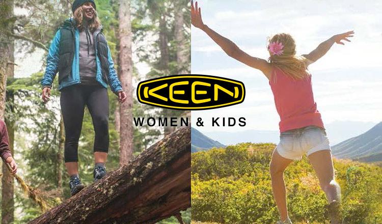 KEEN WOMEN & KIDS