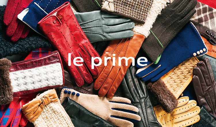 GLOVE SELECTION  BY LE PRIME