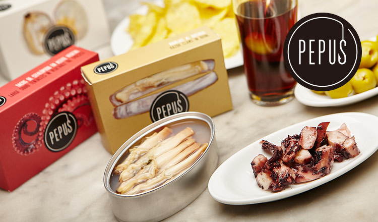 スペインの旨みがぎゅっとつまったグルメ缶詰-PEPUS-