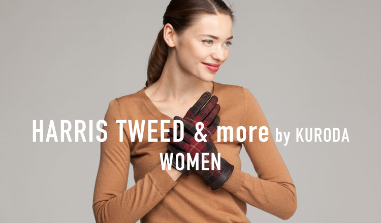 HARRIS TWEED & more by KURODA WOMEN