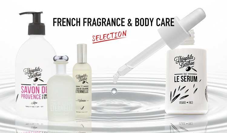 FRENCH FRAGRANCE & BODY CARE SELECTION