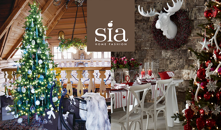 X'MAS DECORATIONS BY SIA HOME FASHION