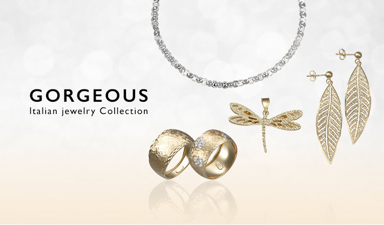 GORGEOUS ‐Italian jewelry Collection-