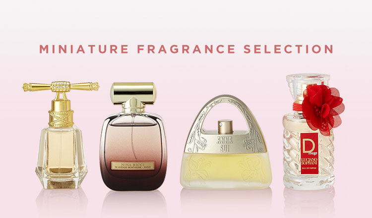 MINIATURE FRAGRANCE SELECTION