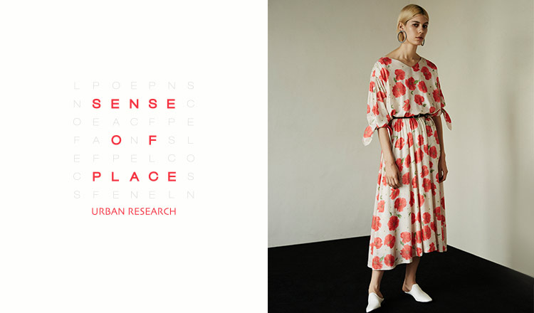 SENSE OF PLACE by URBAN RESEARCH WOMEN