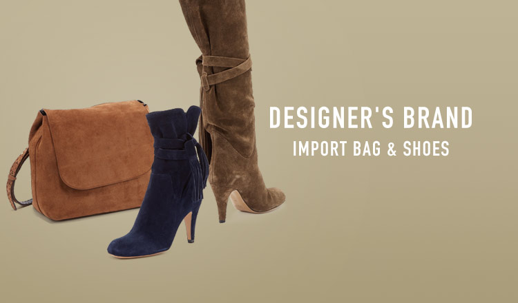 DESIGNER'S BRAND -IMPORT BAG & SHOES-