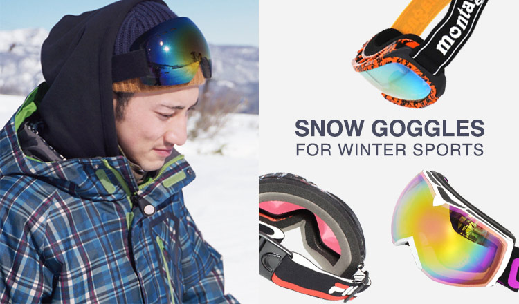 SNOW GOGGLES FOR WINTER SPORTS