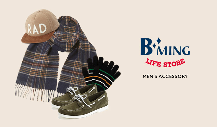 B:MING LIFE STORE BY BEAMS MEN'S ACCESSORY