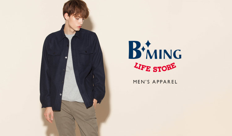 B:MING LIFE STORE BY BEAMS MEN'S APPAREL