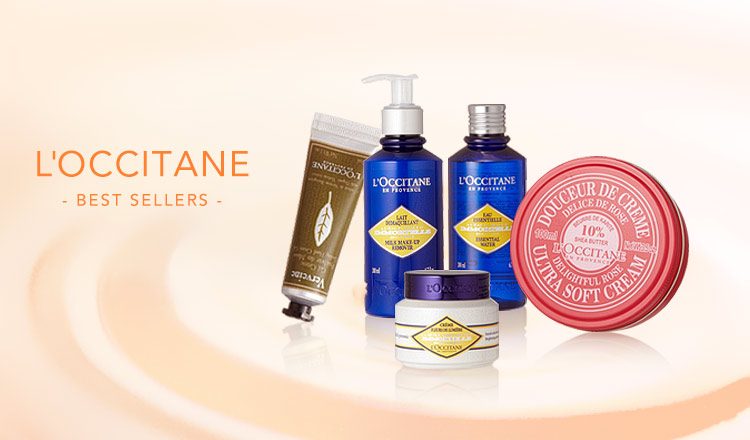 L'OCCITANE- BEST SELLERS -