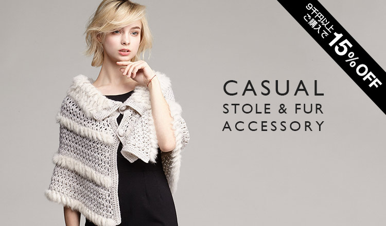 CASUAL STOLE & FUR ACCESSORY