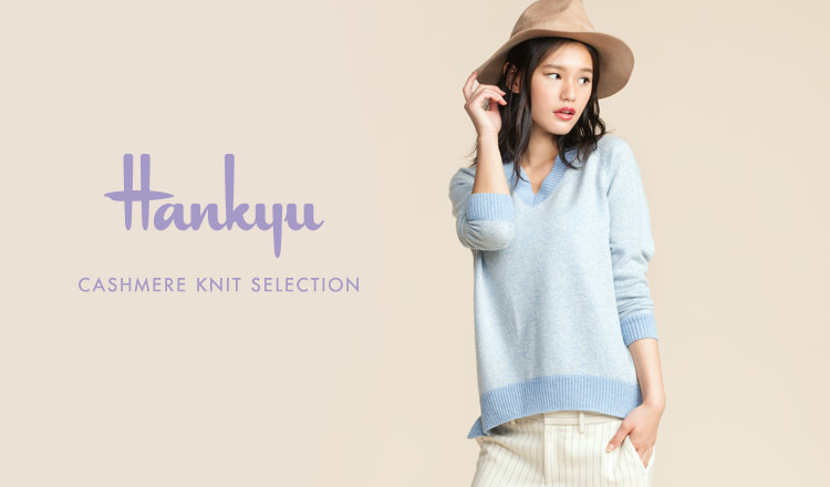 HANKYU WOMEN CASHMERE KNIT SELECTION