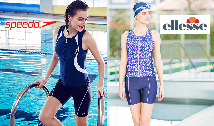 ELLESSE & SPEEDO -SWIMMING・FITNESS WEAR- WOMEN