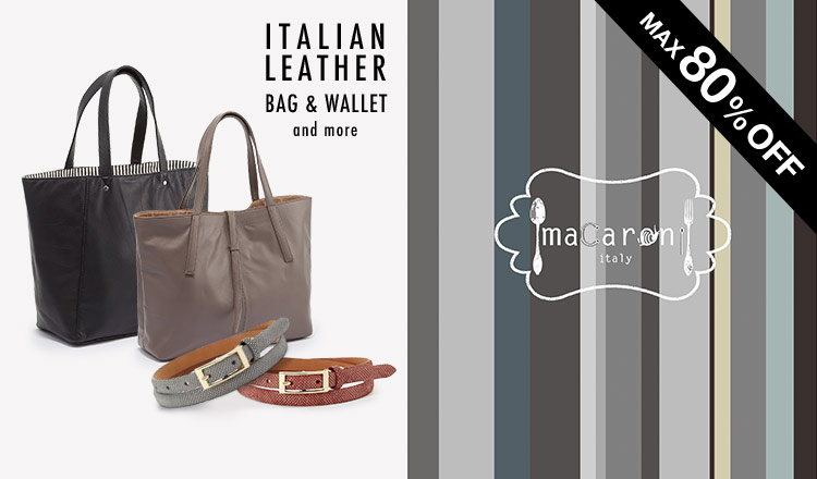 ITALIAN LEATHER BAG & WALLET and more