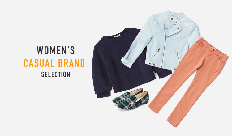 WOMEN'S CASUAL BRAND SELECTION