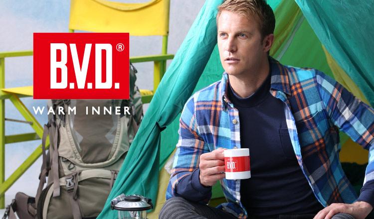 B.V.D. MEN -WARM INNER-