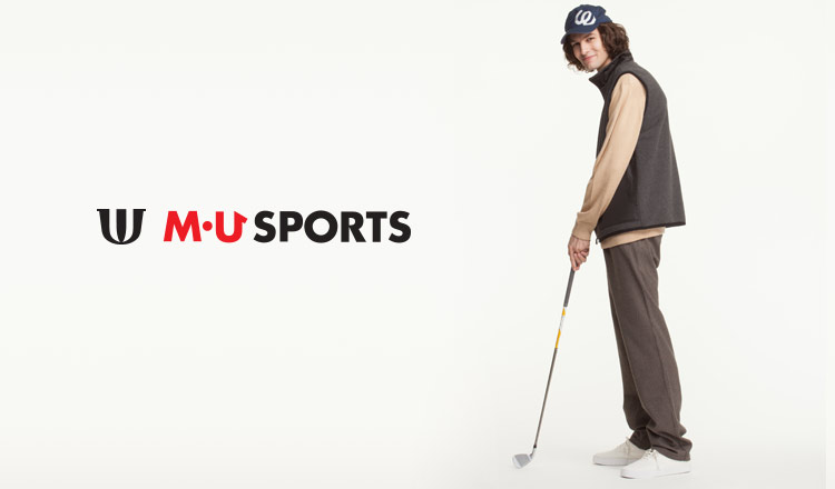 GOLF WEAR BY M・U SPORTS FOR MEN