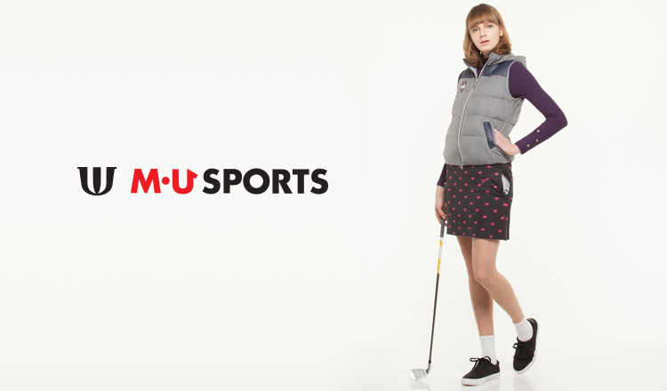 GOLF WEAR BY M・U SPORTS FOR WOMEN